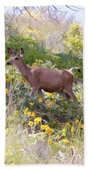 Taking A Stroll In The Country Bath Towel by Athena Mckinzie