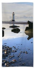 Talacer Abandoned Lighthouse Hand Towel by Spikey Mouse Photography
