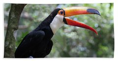 Talkative Toucan Bath Towel