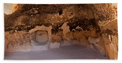 Talus Housefront Room Bandelier National Monument Hand Towel