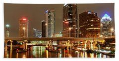 Tampa Skyline Bath Towel