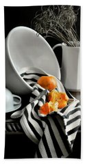 Tangerines Bath Towel