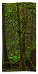 Bath Towel featuring the photograph Tangled Forest by Jacqui Boonstra