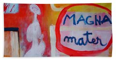 Hand Towel featuring the painting Tango by Ana Maria Edulescu