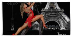 Tango En Paris Bath Towel by Glenn Holbrook