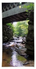 Tannery Hill Bridge Hand Towel by Mim White