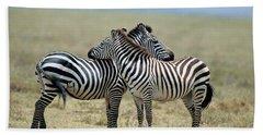 Tanzania Serenget National Park Hand Towel