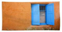 Taos Window V Hand Towel by Lanita Williams