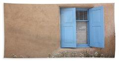Taos Window Vi Hand Towel by Lanita Williams