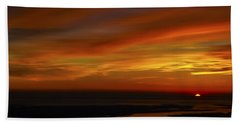 Rappahannock Sunrise II Bath Towel by Greg Reed