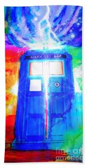 Tardis Bath Towel