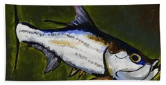 Tarpon Fish Hand Towel