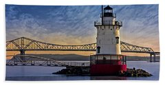 Tarrytown Light Hand Towel by Susan Candelario