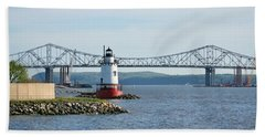 Tarrytown Lighthouse Bath Towel