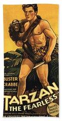 Tarzan The Fearless  Bath Towel