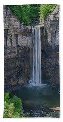 Taughannock Falls  0453 Bath Towel by Guy Whiteley
