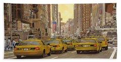 New York Taxi Bath Towels