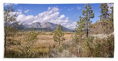 Hand Towel featuring the photograph Taylor Creek Panorama by Jim Thompson
