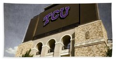 Tcu Stadium Entrance Bath Towel