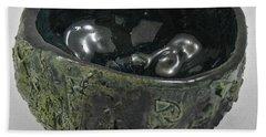 Tea Bowl #5 Bath Towel