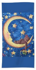 Teddy Bear Dreams Hand Towel