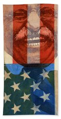 Teddy Roosevelt Bath Towel by John D Benson