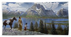 Tee Tons Wyoming Hand Towel