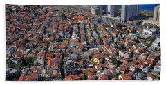 Tel Aviv - The First Neighboorhoods Hand Towel