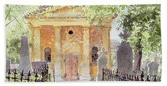Temple Of Harmony, Vesprem, Hungary, 1996 Wc On Paper Bath Towel