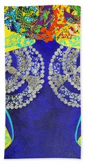 Bath Towel featuring the tapestry - textile Temple Of The Goddess Eye Vol 3 by Apanaki Temitayo M