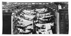 Tenement Housing Laundry Bath Towel