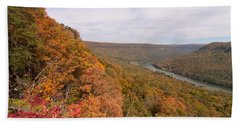 Hand Towel featuring the photograph Tennessee Riverboat Fall by Paul Rebmann