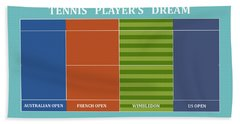 Tennis Player-s Dream Hand Towel