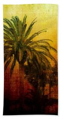 Tequila Sunrise Hand Towel by Jan Amiss Photography