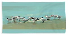 Tern Tern Tern Bath Towel