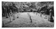 Terpenning Cemetery B And W Hand Towel