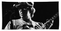 Terry Kath At The Cow Palace In 1976 Hand Towel