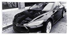 Tesla Model S Bath Towel