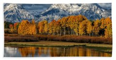 Teton Autumn Bath Towel