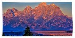 Teton Peaks Hand Towel