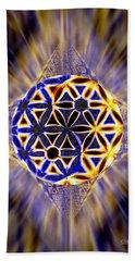 Tetra Balance Crystal Bath Towel by Derek Gedney