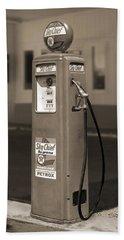 Tokheim Gas Pump 2 Hand Towel by Mike McGlothlen
