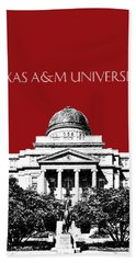 Texas A And M University - Dark Red Hand Towel