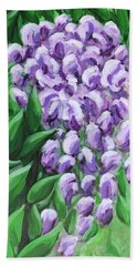 Texas Mountain Laurel Bath Towel