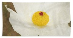 Texas Prickly Poppy Wildflower Hand Towel