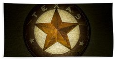Texas Star Hand Towel