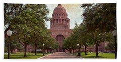Texas State Capitol IIi Hand Towel