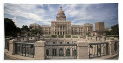 Texas State Capitol Iv Hand Towel