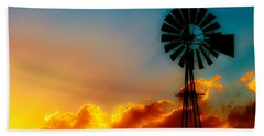 Texas Sunrise Bath Towel