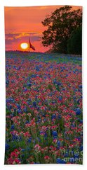 Texas Sunset Bath Towel